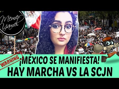 ¡DESPIERTA MÉXICO! Redes sociales organizan marcha contra SCJN