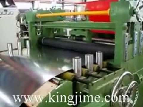 Cutting Machine For Steel Sheet In Kingjime Youtube