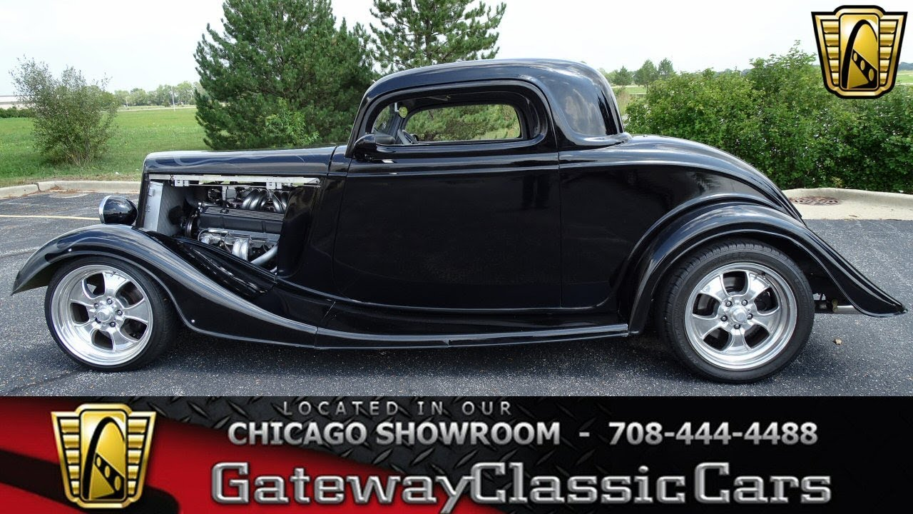 1934 Ford 3 Window Coupe Gateway Classic Cars Chicago #1276 - YouTube