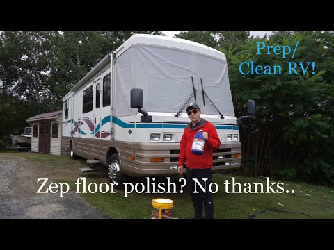 My Experience with ZEP floor polish, I removed it! Cleaning/Prep coach for wax!!