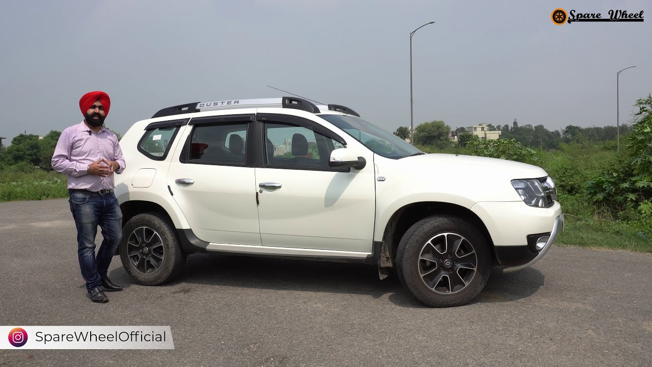 Download Duster Diesel 2016   Detailed Review   The Necessary Successor   Spare Wheel