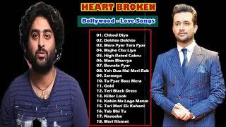 Atif Aslam & Arijit Singh Best Of 2018 - Latest Hindi Songs 2018 - Romantic Hindi Songs 2018
