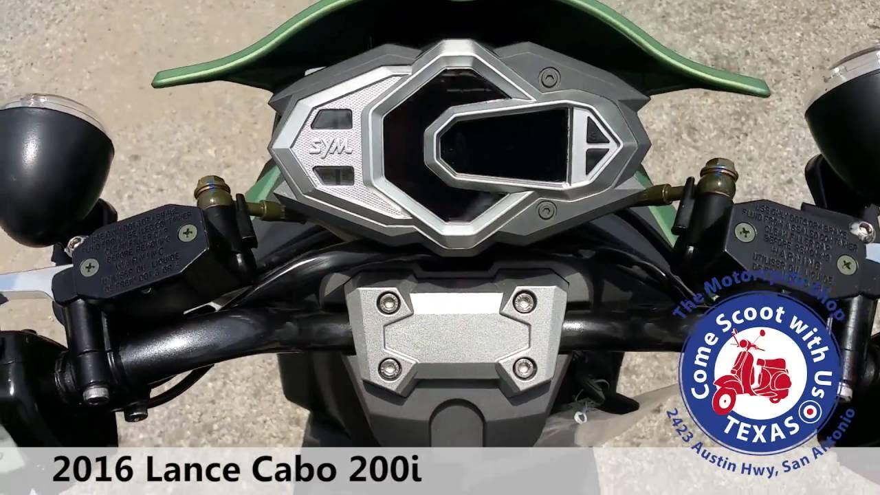 2016 Lance Cabo 200i