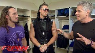 The Miz and Donny Deutsch have big plans for Neville: Raw, December 7, 2015