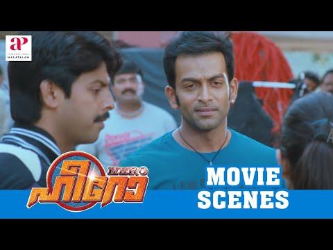 Malayalam Movie | Hero Malayalam Movie | Prithiviraj | Yami Gautam's Daring Stunt Attempt | 1080P HD