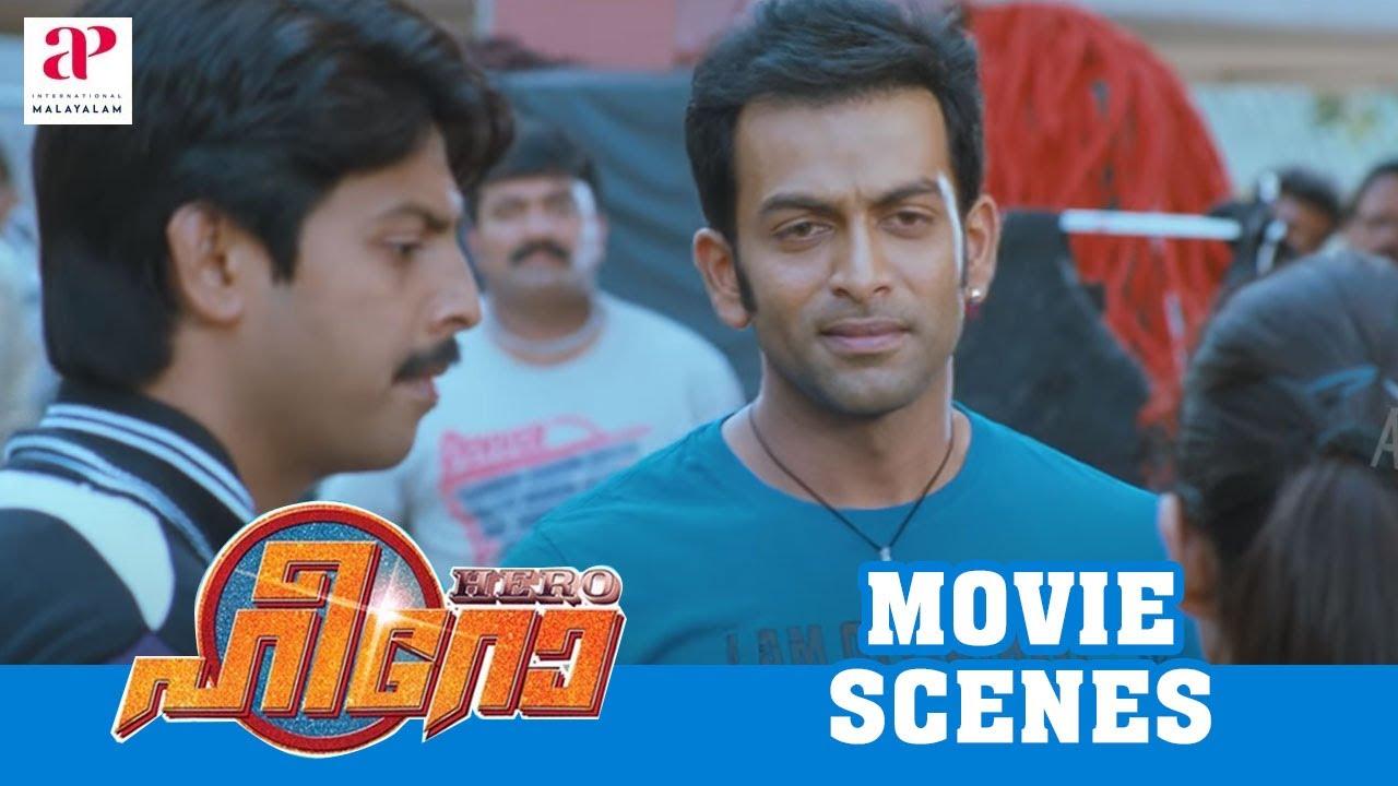Download Malayalam Movie   Hero Malayalam Movie   Prithiviraj   Yami Gautam's Daring Stunt Attempt   1080P HD
