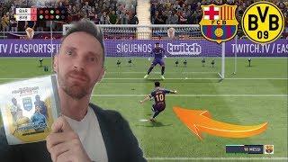 FIFA 20 KARNE CHALLENGE FC BARCELONA VS BORUSSIA DORTMUND *co ten Messi zrobił*!!!