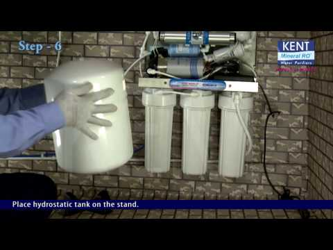 RO UV UF TDS Water purifier: How to Install Guide Kent Excell+ RO | Kent
