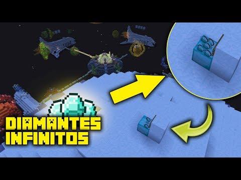 EL GENERADOR DE DIAMANTES OCULTO OP! (Minecraft Eggwars)