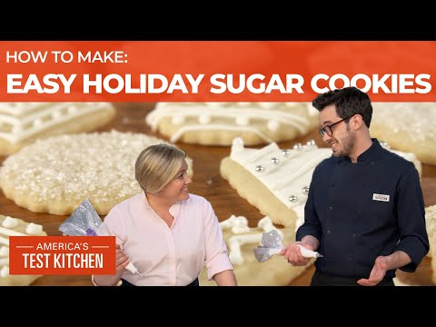 How to Make Easy Sugar Cookies with Decorations