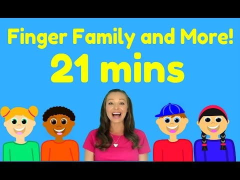 Finger Family and More Nursery Rhymes and Kids Songs for Babies and Toddlers