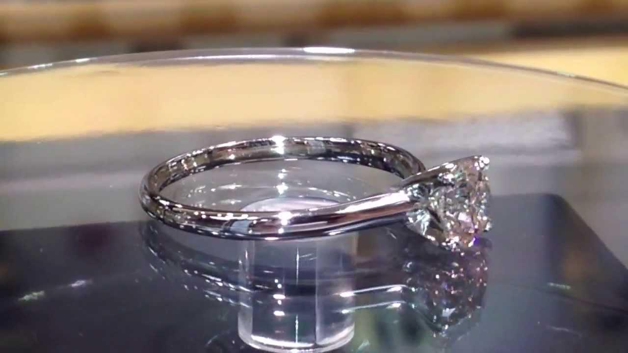4 Carat Brilliant Round Diamond Solitaire Ring In 14k Gold