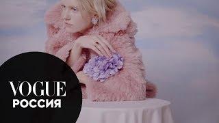 Саша Мельничук показывает, как носить искусственный мех