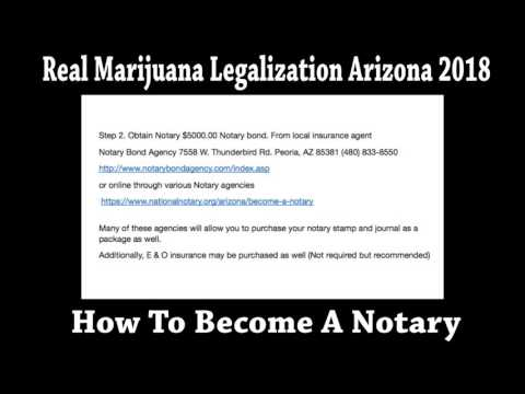 How To Become An Arizona Notary Tutorial