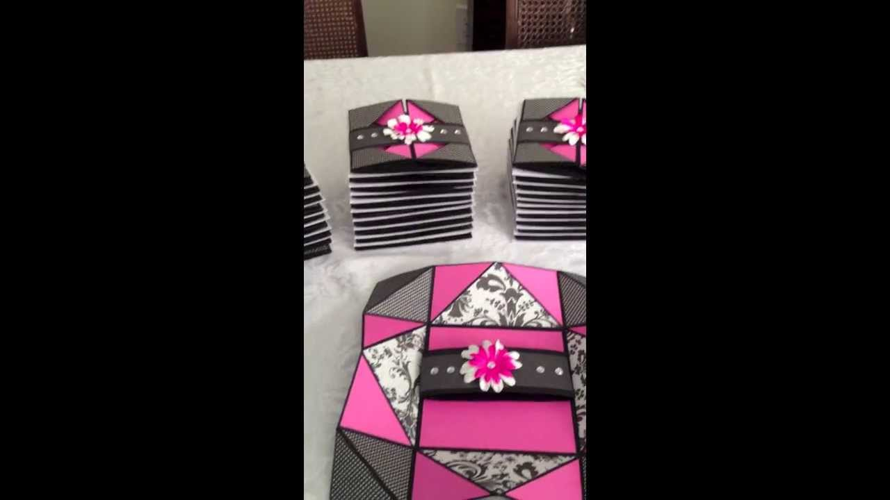 Sweet Sixteen Invitations YouTube