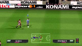 pro evolution soccer 2 2002 gameplay psx psone playstation 1