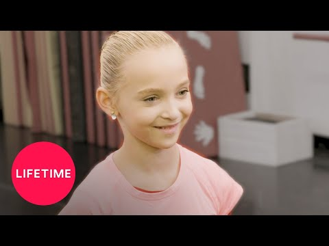 "Dance Moms: Lilliana Rehearses ""Shine Bright"" (Season 8) | Behind the Scenes | Lifetime"