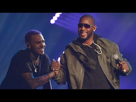 Chris Brown, R. Kelly - She Ain't With You Now
