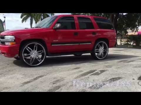 Tahoe on 28's inch rims 28