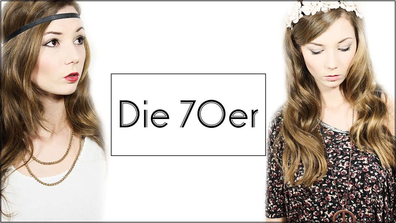 Make Up Haare Outfit Die 70er Koop Youtube