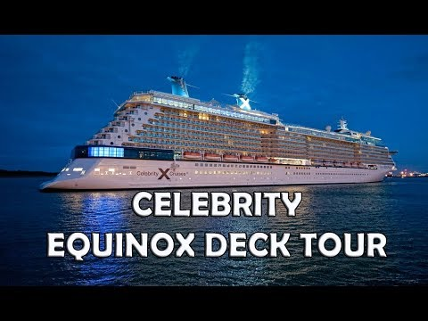 Celebrity Equinox Tour DECK By DECK