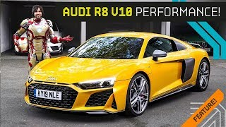 New R8 and Iron Man! Tribute to Tony Stark's Supercar!!