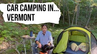 Vlog #82: Car Camṗing in Vermont... Part 1