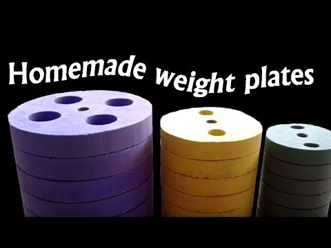 Kako Napraviti Tegove Ploce - Homemade Weight Plates