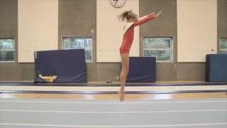 Angel Jump with Kick Back