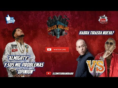 Almighty y sus Mil Problemas - Coscu Vs Nengo Habra Tiraera? - Q&A - Comite Urbano Live - Opinion