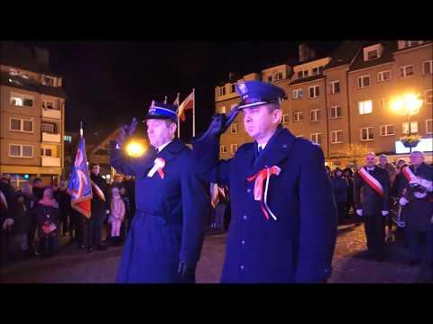 W Kamieniu Pomorskim uczczono 99. rocznicę odzyskania Niepodległości [Zdjęcia, Film]