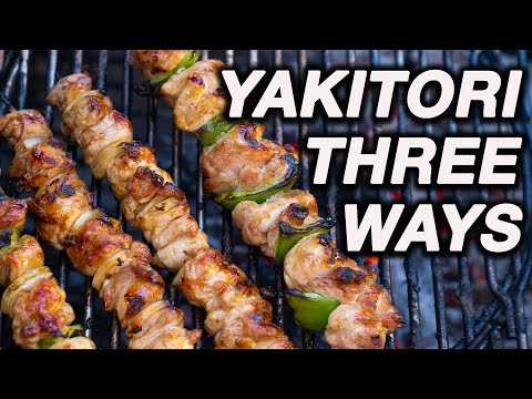 How To Make Yakitori (Japanese Grilled Chicken)