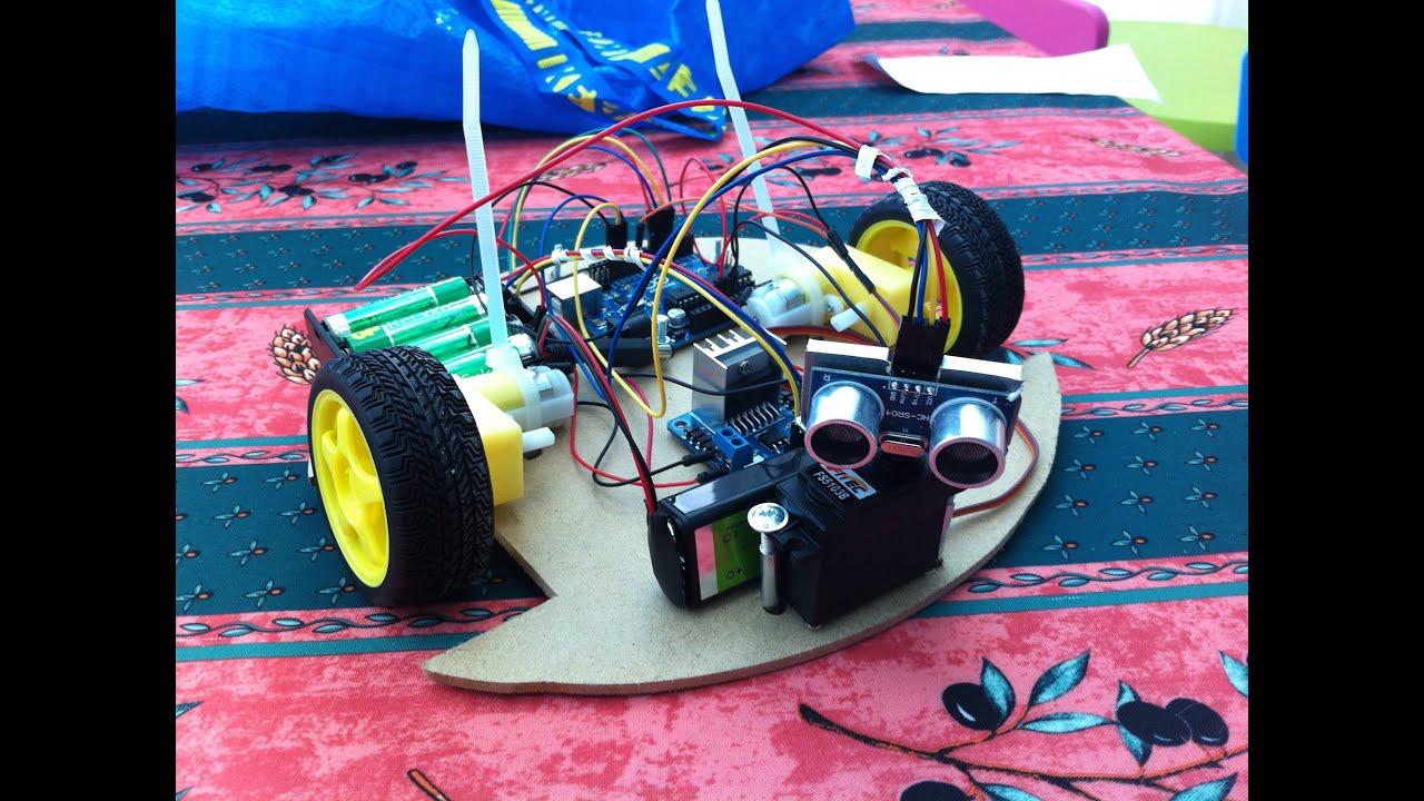 obstacle avoiding robot using arduino pdf