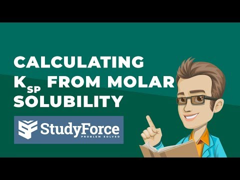 ⚗️ Calculating Kₛₚ From Molar Solubility (Ag₂SO₄)