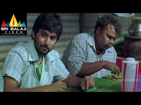Bheemili Kabaddi Jattu Movie Dhanraj Eating Parota Scene | Nani, Saranya Mohan | Sri Balaji Video