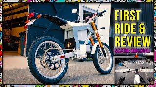 You HAVE to Try this Electric Dirtbike - Cake Kalk - NYC First Ride & Review