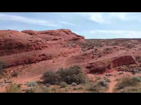 Prospector Trail en Route to Church Rocks