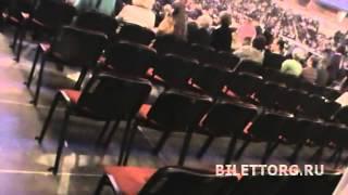 Схема Лужников, Дворец спорта Лужники, амфитеатр