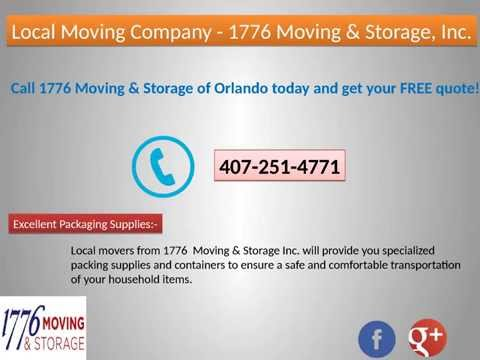 Moving Company in Orlando   1776 Moving and Storage