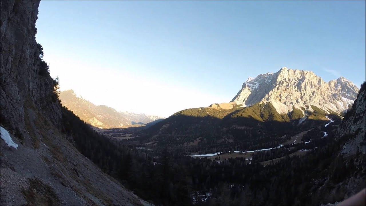 Klettersteig Ehrwald : Seeben klettersteig ehrwald i tirol youtube