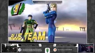 Repeat youtube video Top 10 Team Combos - Super Smash Bros for Wii U