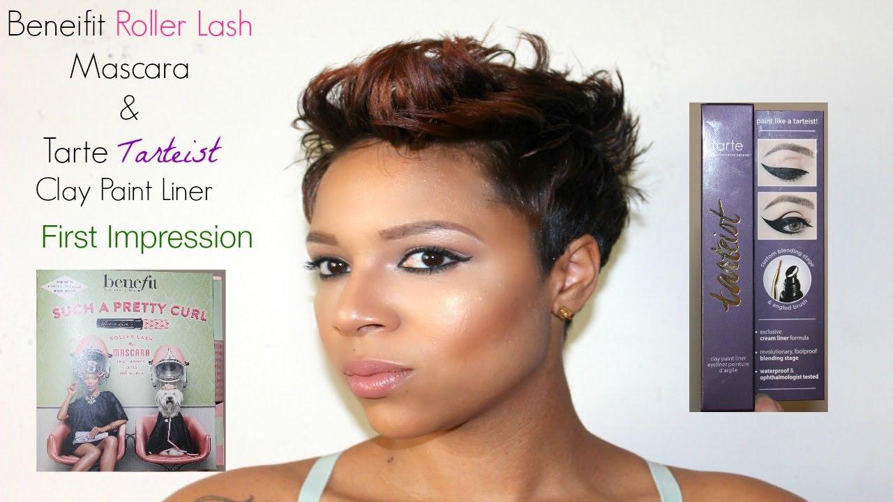 First impression benefit roller lash mascara tarte for Tarteist clay paint liner
