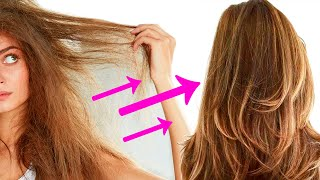ЛАЙФХАКИ УХОД ЗА ВОЛОСАМИ Как отрастить длинные волосы