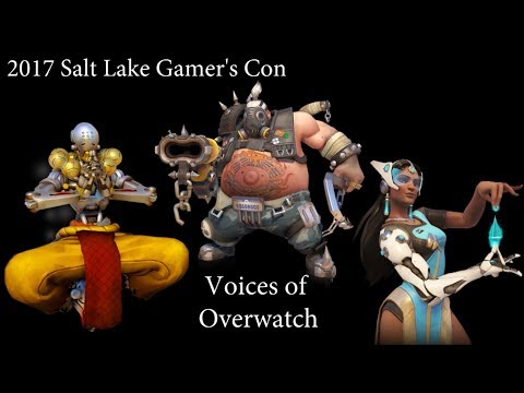 2017 Salt Lake Gamers Con  Voices of Overwatch Panel