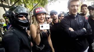 Lauren Southern Vs Punk Rocker #Antifa #SJW #Berkeley