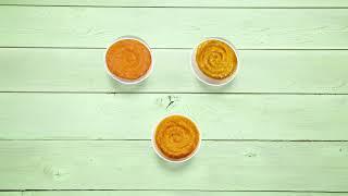 Простые рецепты для приготовления детского питания. Продукты: тыква, батат, морковь