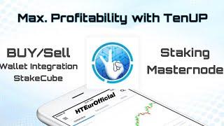 TenUP Buying, Staking & Masternode
