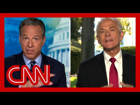 Tapper presses Navarro: You're not answering the question