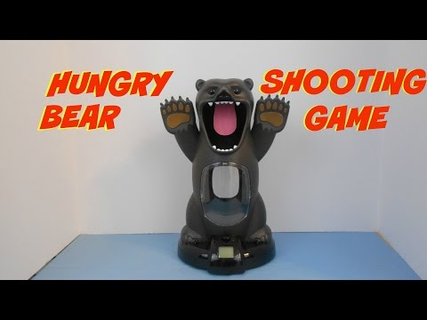 Hungry Bear Target Shooting Game Black Series Demonstration