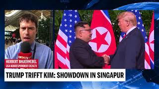 Trump trifft Kim: Showdown in Singapur